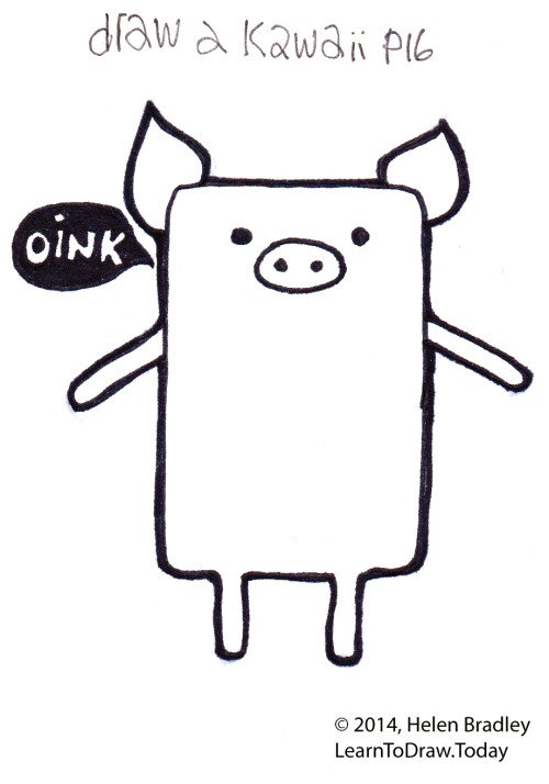 pig kawaii_facebook2
