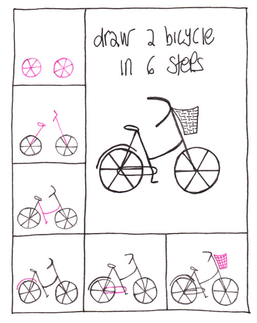 Draw A Bicycle In 6 Simple Steps Learn To
