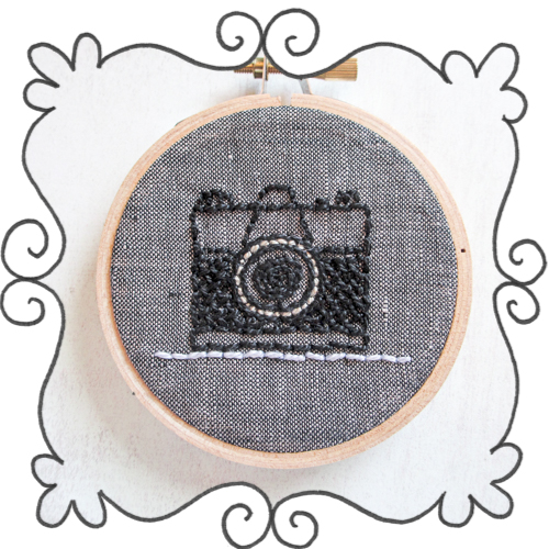 retro camera embroidery,camera embroidery vintage