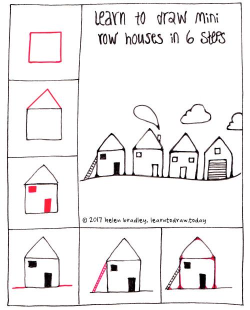 houses 6 step