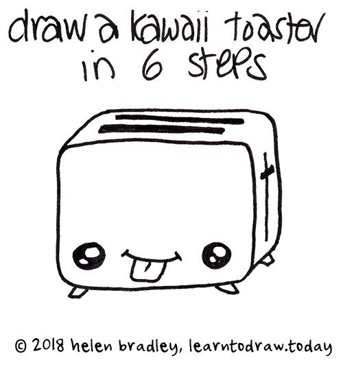 Dessin Kawaii Learn To Draw