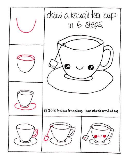 how to make a cup of tea step by step
